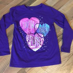 Snow much fun long sleeve tee with sparkle